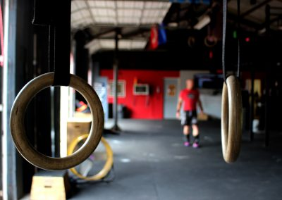 CrossFit Kilgore rings waiting for you